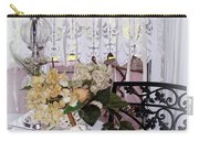 Lacey Curtain And Pastry Carry-all Pouch