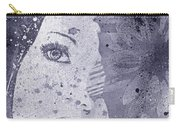 Lack Of Interest - Silver Carry-all Pouch