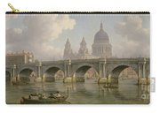 Blackfriars Bridge And St Paul's Cathedral Carry-all Pouch