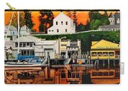 Laconner Waterfront Art Panel Carry-all Pouch