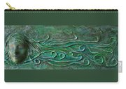 Lady Abstract Wall Sculpture Carry-all Pouch