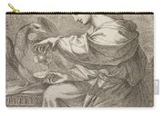 Lady And Eagle Carry-all Pouch