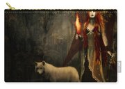 Lady And The Wolf Carry-all Pouch