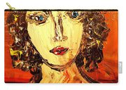 Lady Anna Portrait Carry-all Pouch