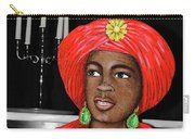 Lady At The Candelabra Carry-all Pouch