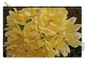 Lady Banks Rose Cluster Carry-all Pouch