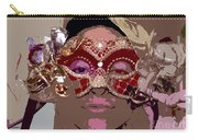 Lady Behind The Mask Carry-all Pouch