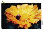 Lady Bug Walking The Line Carry-all Pouch