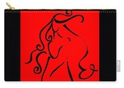 Lady Curves  Carry-all Pouch