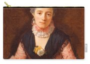Lady In A Pink Silk Dress Carry-all Pouch