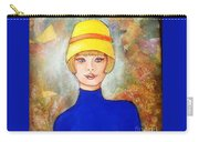 Lady In A Yellow Hat Carry-all Pouch