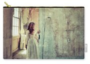 Lady In An Old Abandoned House Carry-all Pouch by Jill Battaglia