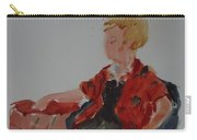 Lady In Chair Carry-all Pouch