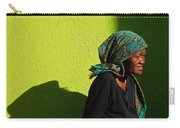 Lady In Green Carry-all Pouch by Skip Hunt
