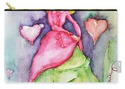 Lady In Love Carry-all Pouch