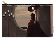 Lady In Red Dress Carry-all Pouch
