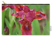 Lady In Red Iris Carry-all Pouch