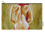 Lady In Red Three Carry-all Pouch