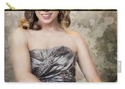 Lady In Silver Carry-all Pouch