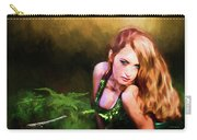 Lady In The Ferns Carry-all Pouch