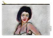 Lady Jane With Red Lipstick Carry-all Pouch