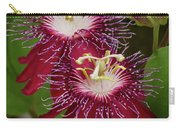 Lady Margaret Passiflora Carry-all Pouch