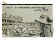 Lady Of The Derby Quote Carry-all Pouch