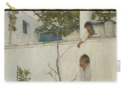 Lady On A Balcony, Capri Carry-all Pouch