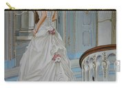 Lady On The Staircase Carry-all Pouch