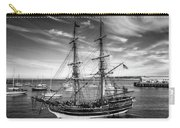 Lady Washington In Black And White Carry-all Pouch