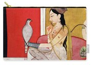 Lady With A Hawk Carry-all Pouch
