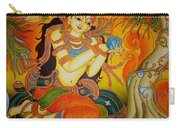 Lady With A Lotus Carry-all Pouch