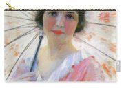 Lady With A Parasol 1921 Carry-all Pouch