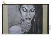 Lady With Bridal Jewelry Carry-all Pouch