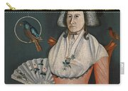 Lady With Her Pets. Molly Wales Fobes Carry-all Pouch