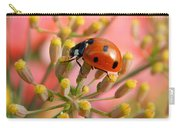 Ladybug On Fennel Carry-all Pouch