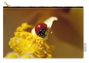 Ladybug Picking Flowers Carry-all Pouch