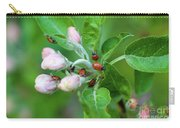 Ladybugs On Apple Blossoms Carry-all Pouch