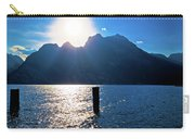 Lago Di Garda At Sunset View Carry-all Pouch
