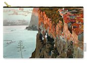 Lago Di Garda Lake Garda Vintage Poster Carry-all Pouch