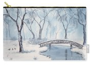 Lagoon Under Snow Carry-all Pouch