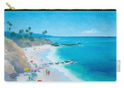 Laguna Beach Umbrellas Carry-all Pouch