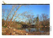 Lake And Trees In Early Spring Carry-all Pouch