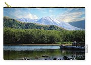 Lake And Volcano Carry-all Pouch