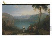 Lake Avernus - Aeneas And The Cumaean Sybil Carry-all Pouch