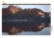 Lake Bled At Dawn Carry-all Pouch
