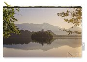 Lake Bled At Sunrise Carry-all Pouch