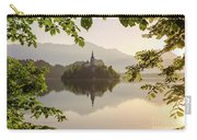 Lake Bled In The Morning Carry-all Pouch
