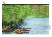 Lake Bratan Boats Bali Indonesia Carry-all Pouch