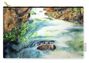 Lake Como Waterfall Carry-all Pouch